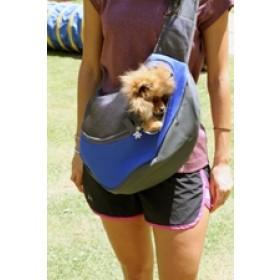 Pet Carrier - bolsa tira colo para transporte de pets - tamanho grande - 40x26x13cm - azul