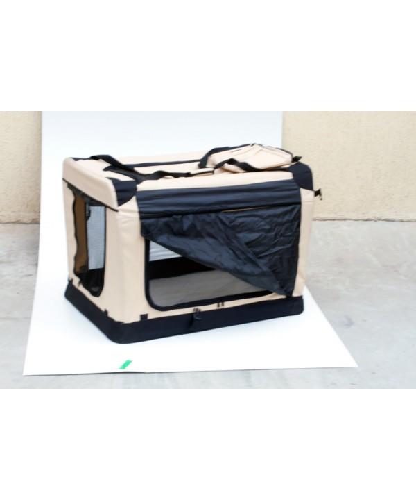 Soft Crate - Caixa de transporte-S-pequena - 49,5x34,5x35cm - desmontável - com mala