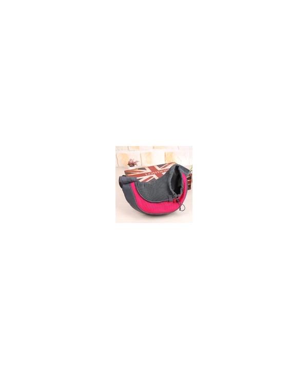 Pet Carrier - bolsa tira colo para transporte de pets - tamanho grande - 40x26x13cm - rosa