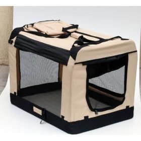 Soft Crate - Caixa de transporte-2XL-grande - 91,5x63,5x63,5cm - desmontável - com mala